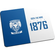 Personalised Warrington Wolves 100 Percent Mouse Mat
