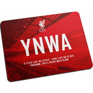 Personalised Liverpool FC Champions 2020 YNWA Mouse Mat