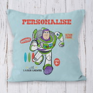 Personalised Toy Story 4 Buzz Vintage Cushion - 45x45cm