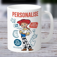 Personalised Toy Story 4 Jessie Vintage Ceramic Mug