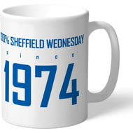 Personalised Sheffield Wednesday FC 100 Percent Mug