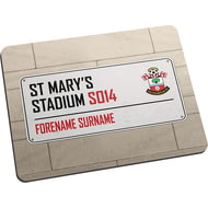 Personalised Southampton FC Street Sign Mouse Mat