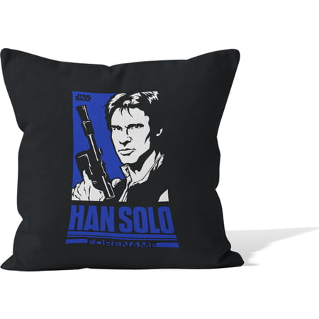 Personalised Star Wars Han Solo Pop Art Cushion