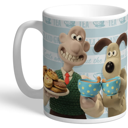 Personalised Wallace And Gromit Crackin Cuppa Mug