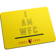 Personalised Watford FC I Am Mouse Mat
