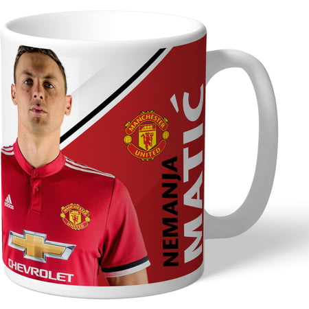 Personalised Manchester United FC Matic Autograph Mug
