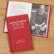 Personalised Manchester United On This Day Football History Book
