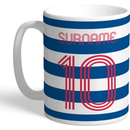 Personalised Reading FC Retro Shirt Mug