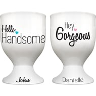 Personalised His And Hers Egg Cups