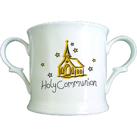 Personalised Church Communion Bone China Loving Cup