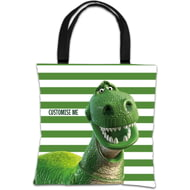 Personalised Toy Story Rex Tote Bag