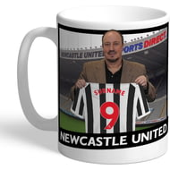 Personalised Newcastle United FC Manager Mug