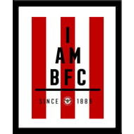 Personalised Brentford I Am Framed Print