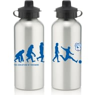 Personalised Cardiff City Player Evolution Aluminium Sports Water Bottle