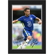 Personalised Chelsea FC Azpilicueta Autograph Photo Folder