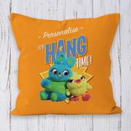 Personalised Toy Story 4 It's Hang Time Cushion - 45x45cm