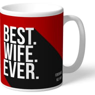 Personalised Brentford Best Wife Ever Mug