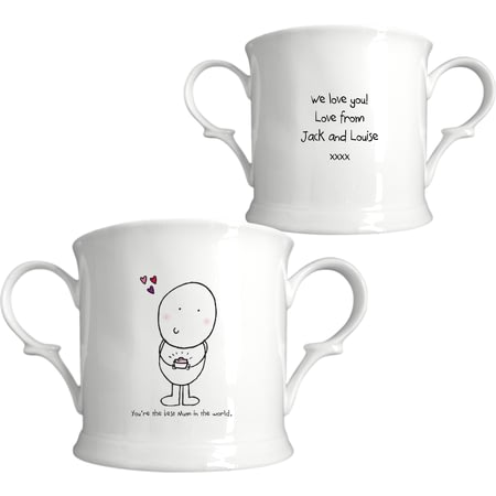Personalised Chilli & Bubbles Mothers Day Loving Cup