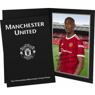 Personalised Manchester United FC Martial Autograph Photo Folder
