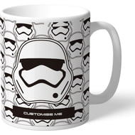 Personalised Star Wars Storm Trooper Icon Mug