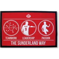 Personalised Sunderland AFC Way Rubber Backed Door Mat