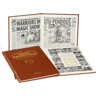 Personalised Wigan Warriors Rugby Newspaper Book