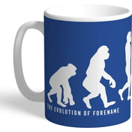 Personalised Everton FC Evolution Mug