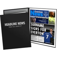 Personalised Everton FC News Folder