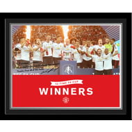 Personalised Manchester United FA Cup Winners 2016 Photo