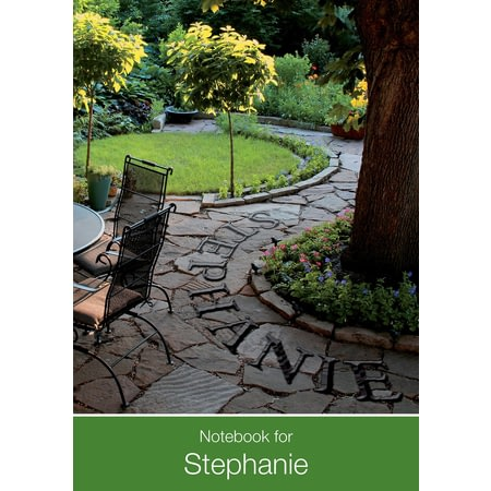 Personalised Gardener Dream Notebook