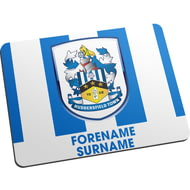 Personalised Huddersfield Town Bold Crest Mouse Mat