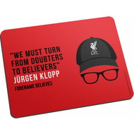 Personalised Liverpool FC Champions 2020 Klopp Mouse Mat
