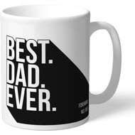 Personalised Newcastle United Best Dad Ever Mug