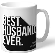 Personalised Newcastle United Best Husband Ever Mug