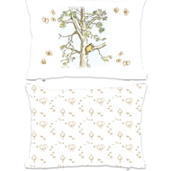 Personalised Winnie The Pooh Tree Climb Scene Rectangle Cushion - 45x30cm