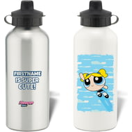 Personalised Powerpuff Girls Bubbles Cloud Water Bottle
