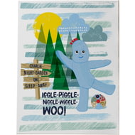 Personalised Iggle Piggle Canvas Print