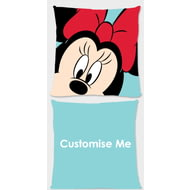 Personalised Disney Mickey Mouse & Friends Minnie Cushion - 45x45cm