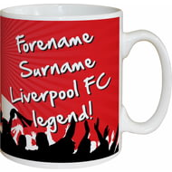 Personalised Liverpool FC Legend Mug