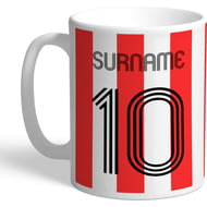 Personalised Sheffield United FC Retro Shirt Mug