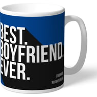 Personalised Chelsea FC Best Boyfriend Ever Mug