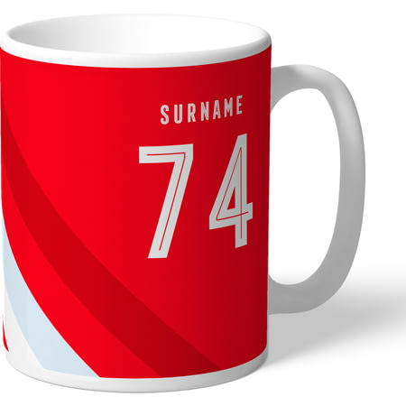 Personalised Nottingham Forest FC Stripe Mug