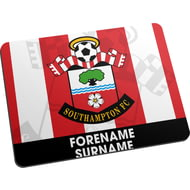Personalised Southampton FC Bold Crest Mouse Mat