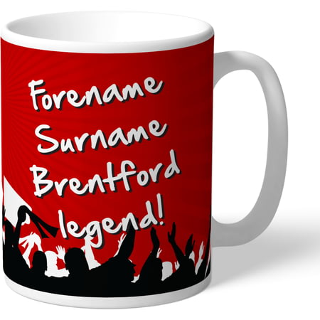 Personalised Brentford FC Legend Mug