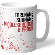 Personalised Middlesbrough FC Proud Mug