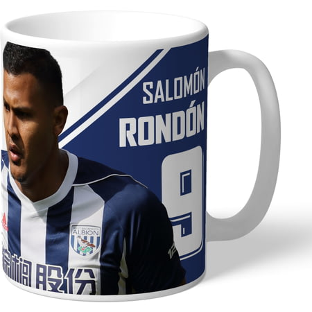 Personalised West Bromwich Albion FC Rondon Autograph Mug