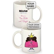 Personalised Drama Queen Ceramic Mug