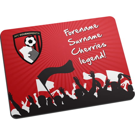 Personalised AFC Bournemouth Legend Mouse Mat