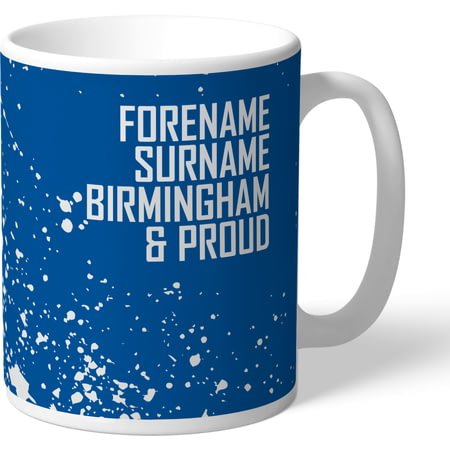 Personalised Birmingham City FC Proud Mug