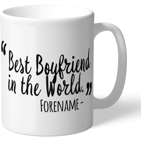 Personalised Derby County Best Boyfriend In The World Mug